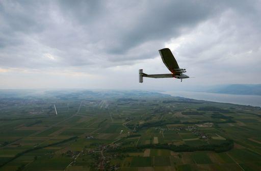 Solar impulse fermo in Giappone