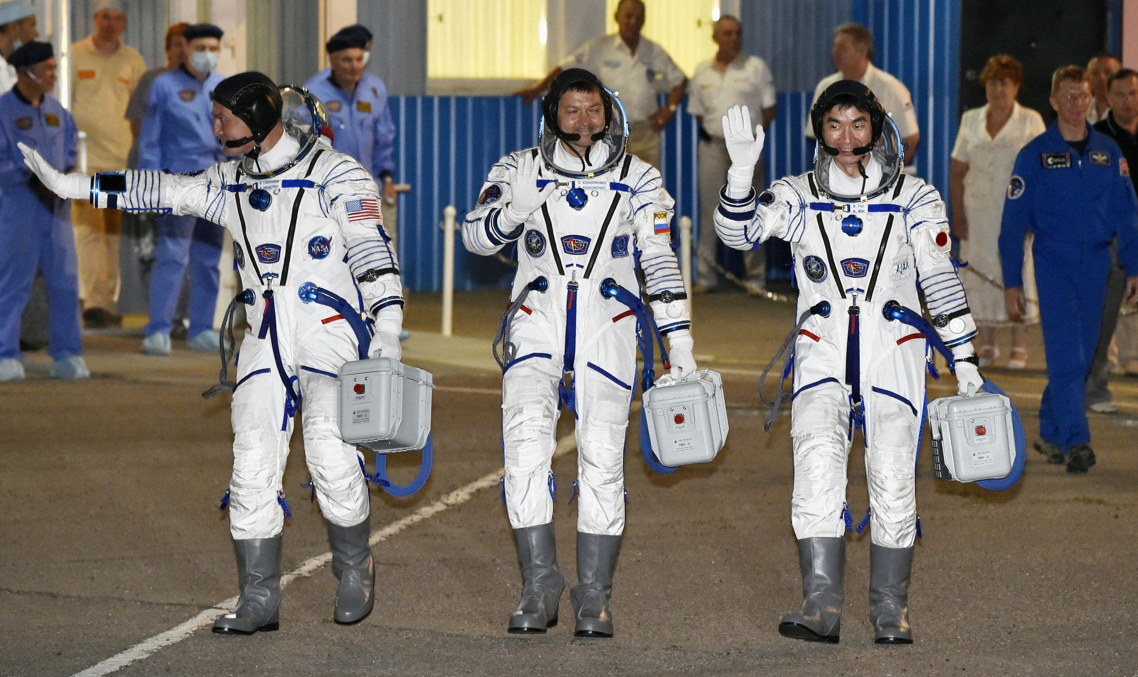 Navetta Soyuz lanciata nello spazio