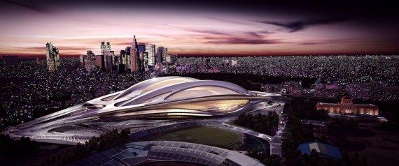 Scartato il progetto Hadid per lo stadio delle Olimpiadi di Tokyo