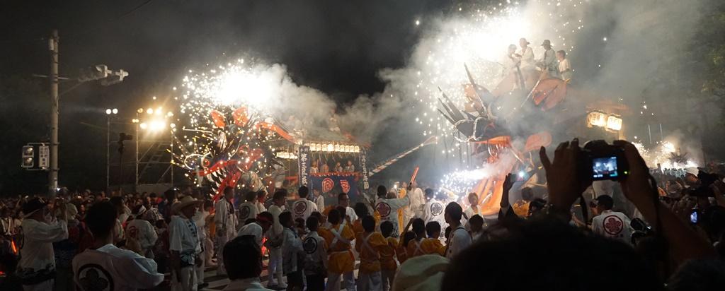 Festa del drago a Omuta (Fukuoka)