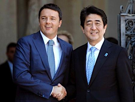 Renzi in Giappone