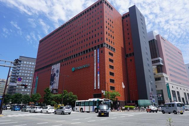 """Palazzo """"Nishinippon Shimbun Building"""""""