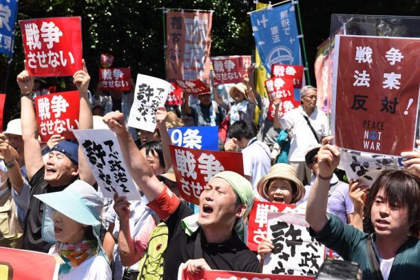 Il governo giapponese e l'articolo 9 della Costituzione