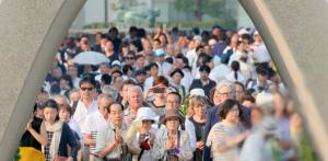 Foto: 06 agosto 2015, Hiroshima (asahi.com)