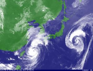 Foto: Geostationary Meteorogical Satellite