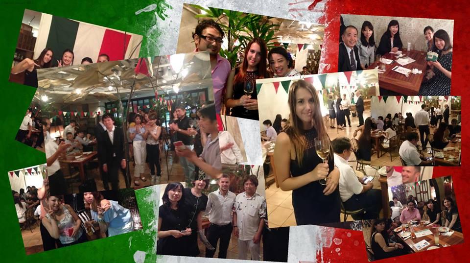 Giappone e Italia si incontrano ogni mese all'Aperitivo Italiano