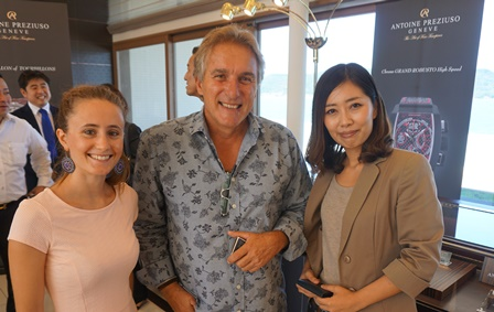 Antoine Preziuso e l'arte dell'orologeria svizzera in Giappone