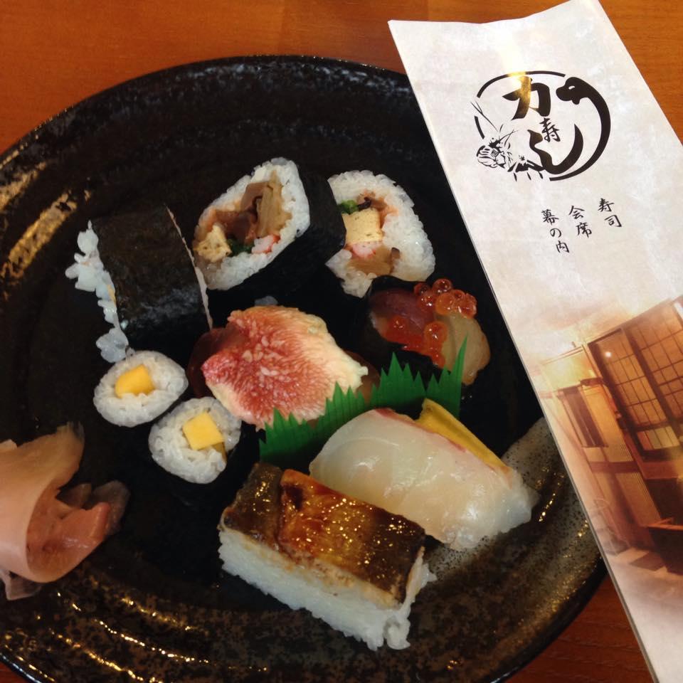 Il sushi si fa dolce