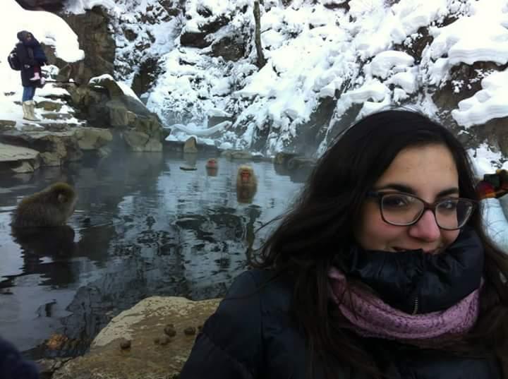 Il parco delle scimmie della neve
