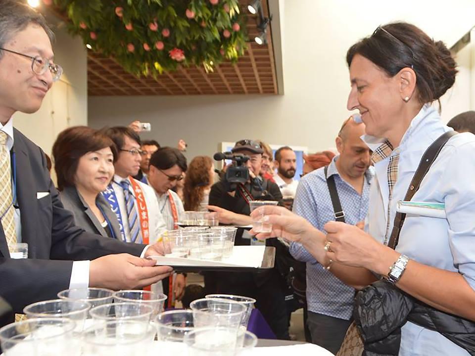 A Expo evento sul cibo sicuro di Fukushima