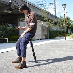 La sedia-ombrello, l'ultima strana invenzione giapponese