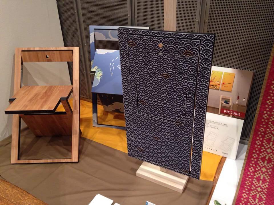 FUKUOKA DESIGN AWARD(3): Cocoon Design – la sedia che diventa un quadro