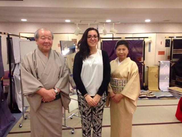 La magia di indossare il kimono