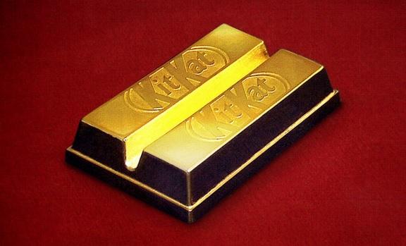 Kit Kat al gusto oro!