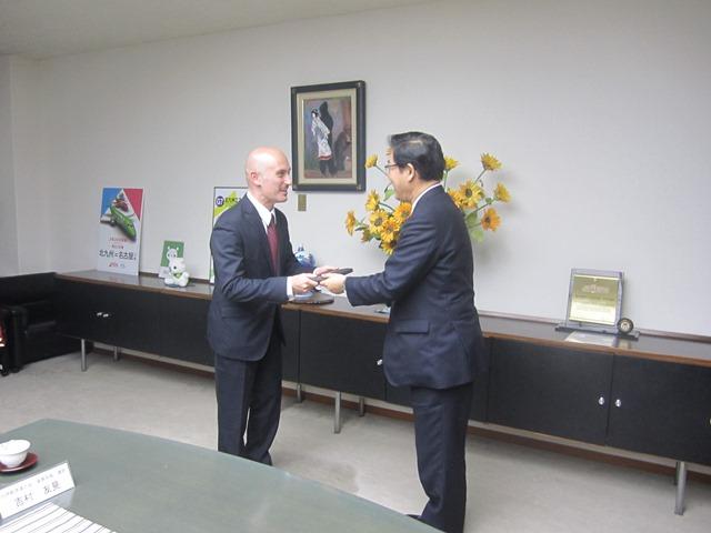 La Japan Italy Economic Federation incontra il Sindaco di Kitakyushu per la promozione di investimenti e collaborazioni industriali
