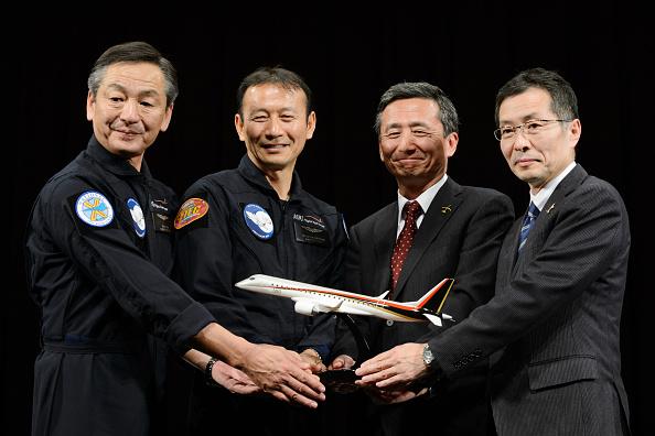 MRJ: il primo volo dell'aereo di linea prodotto interamente in Giappone