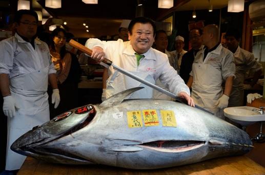 Giappone: un tonno da 109.000 euro!