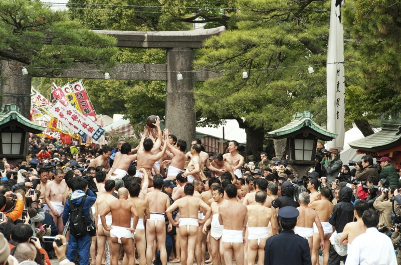 Tamaseseri, festival di inaugurazione del nuovo anno a Fukuoka