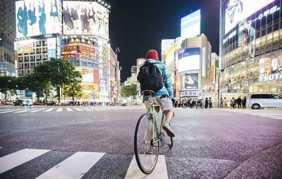 In Giappone si pedala ma con prudenza!