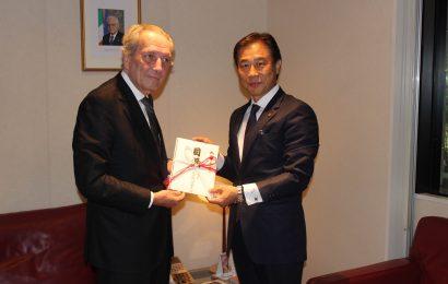 JIEF: ponte di solidarieta' Giappone-Italia, fondi per Amatrice da Higo Bank